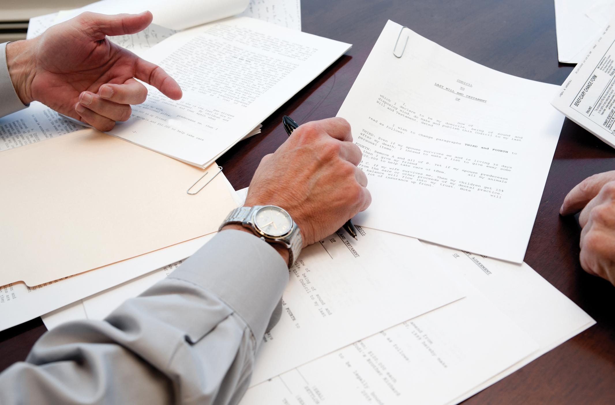Les 5 étapes clés pour faire son testament - Odella.fr