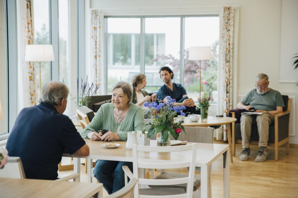 les différents établissements pour les retraités