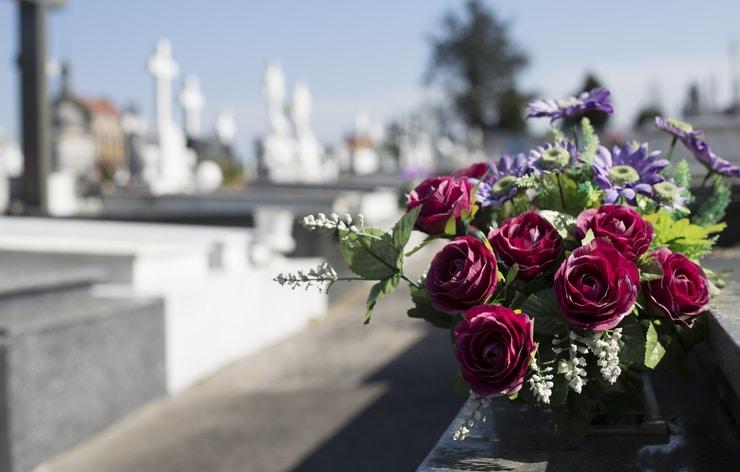 Quel est le budget des fleurs de deuil d'un enterrement ?