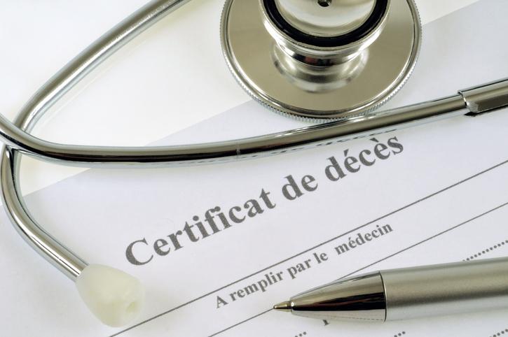 Où se procurer les certificats de décès