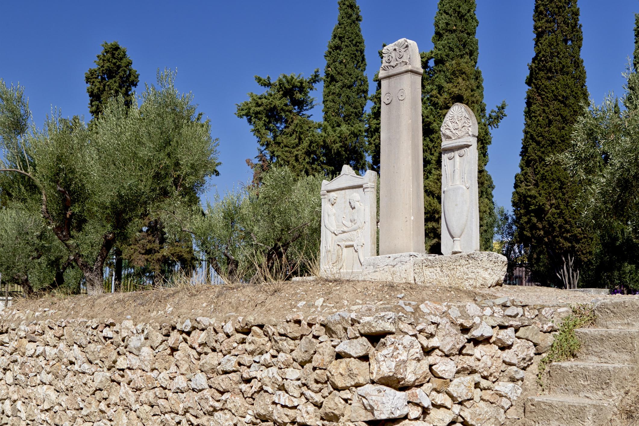 rites funéraires grecs